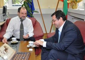 Ректорът на Пловдивския университет и кметът на Пловдив Славчо Атанасов